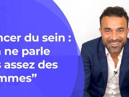 """Cancer du sein : """"On ne parle pas assez des hommes"""""""