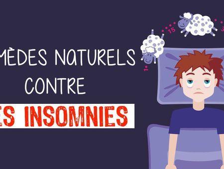 Remèdes naturels contre les insomnies