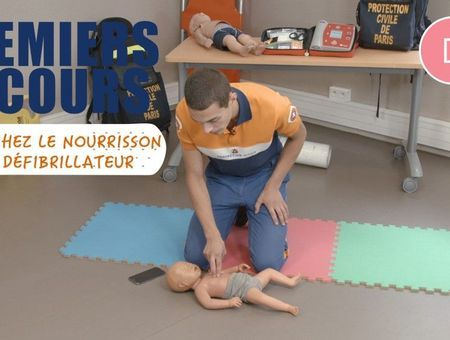 Mon bébé ne respire plus : comment faire les gestes de réanimation cardio-respiratoire ?
