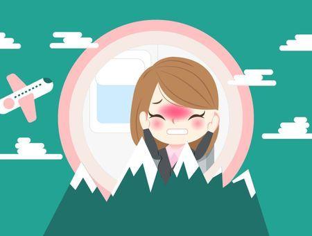 Pourquoi nos oreilles se bouchent en avion ou en altitude ?