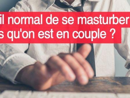 En couple, peut-on encore se masturber?