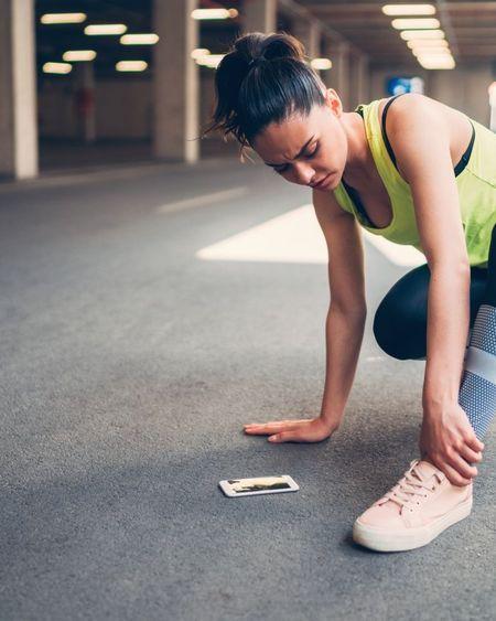 Entorse de la cheville : comment faire du sport sans se faire mal
