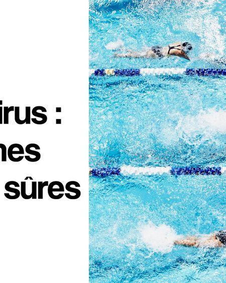 Le coronavirus ne se propagerait pas dans les piscines