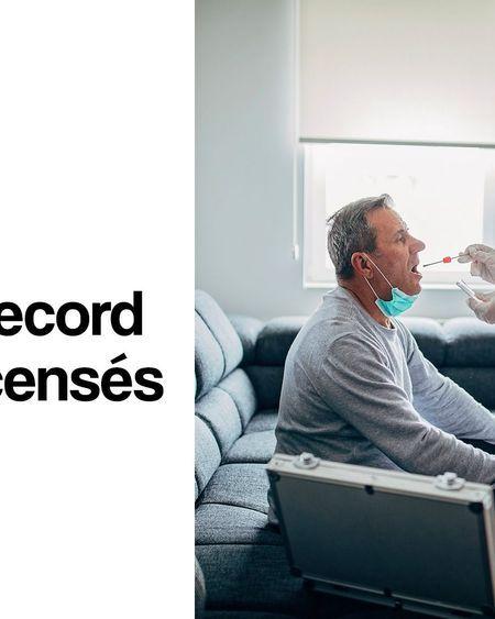 Covid-19 : nouveau record de cas recensés