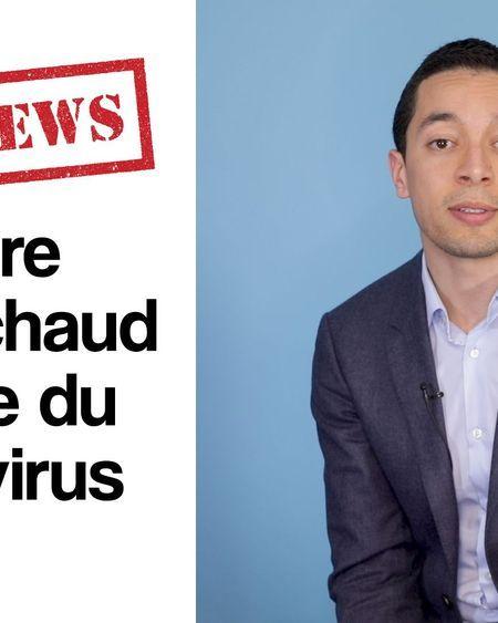 FAKE NEWS – Les bains chauds protègent du coronavirus
