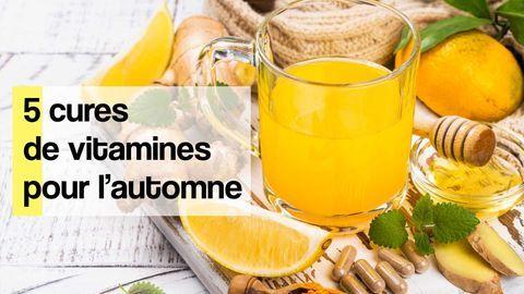 cures vitamines automne