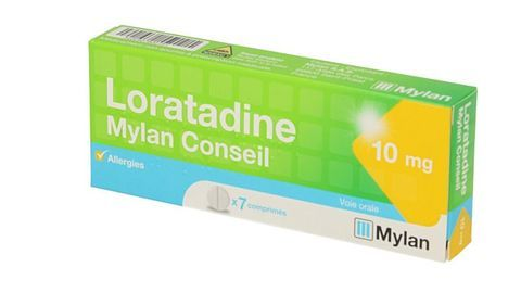 LORATADINE MYLAN CONSEIL