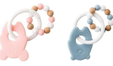 Rappel d'anneaux de dentition de la marque Nattou