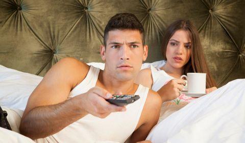 couple inattention télé