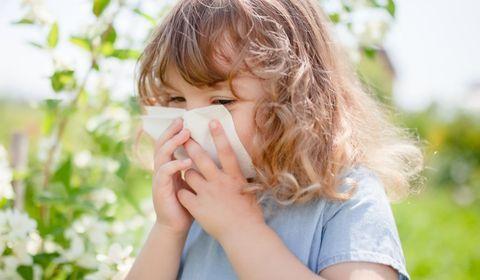 Allergie : protéger son enfant en vacances
