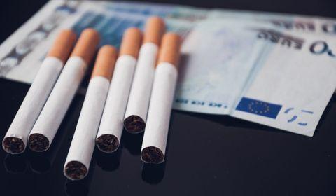 Tabac : le paquet de cigarettes augmente de presque 1 euro le 1er mars