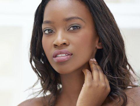 Maquillage de la peau noire ou métissée