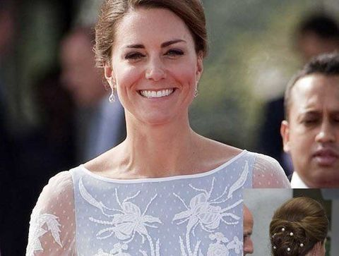 Chignon Perles De Kate Middleton Chignon De Star 30 Modeles Pour Vous Creper Le Chignon