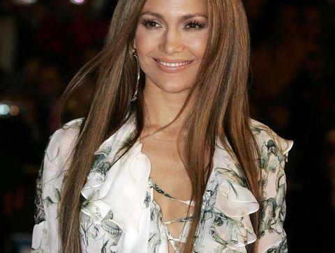 Les longueurs baguette de Jennifer Lopez - 15 coiffures iconiques de stars
