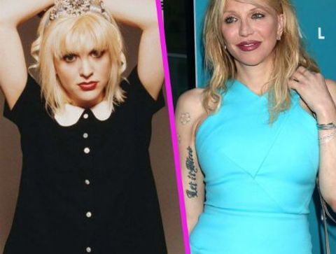 Courtney Love - Stars : les pires ratés de la chirurgie esthétique !