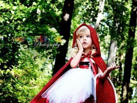 Déguisement du Petit Chaperon rouge - Halloween : 30 idées de déguisement pour enfant