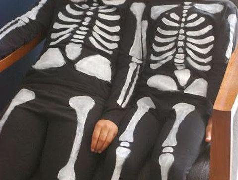 Déguisement du squelette - Halloween : 30 idées de déguisement pour enfant