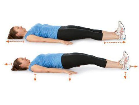 Planche spinale au sol, mains en pronation - 10 exercices qui soignent