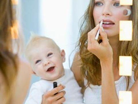 Le vanity pour la maternité