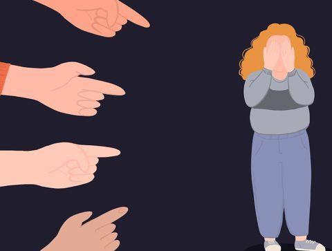 """Body shaming : """"on m'appelait la baleine alors que je faisais à peine 60kg"""""""