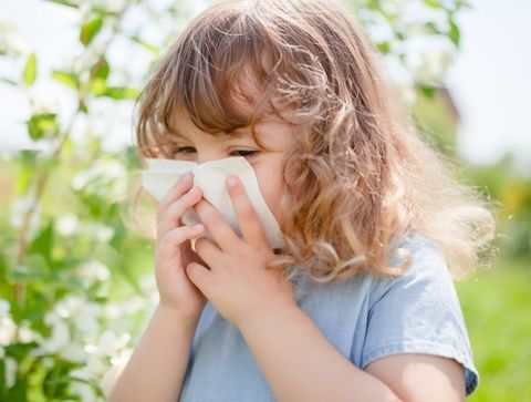 Ne laissez pas l'allergie lui gâcher ses vacances !