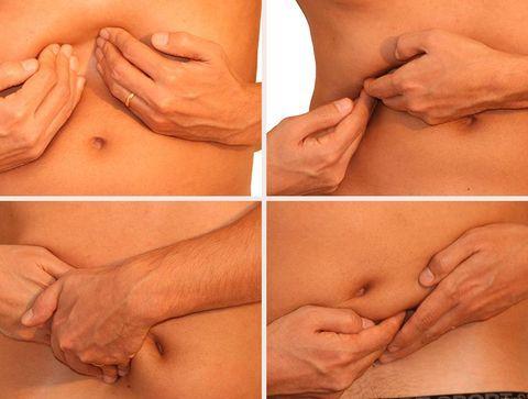 Automassages pour soulager les maux de ventre