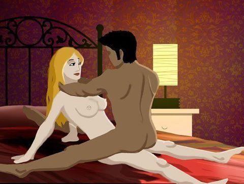 Le compas  - Kamasutra : 120 positions sexuelles du Kamasutra illustrées