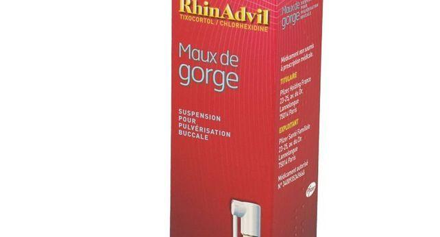 RHINADVIL MAUX DE GORGE