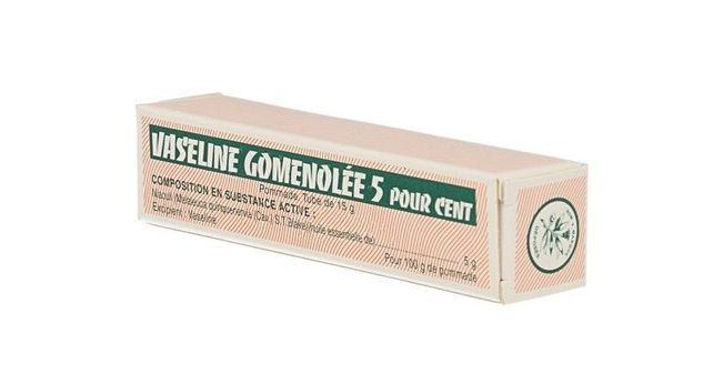 VASELINE GOMENOLEE
