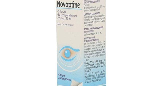 NOVOPTINE 2,5 mg/10 ml