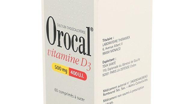 OROCAL VITAMINE D3