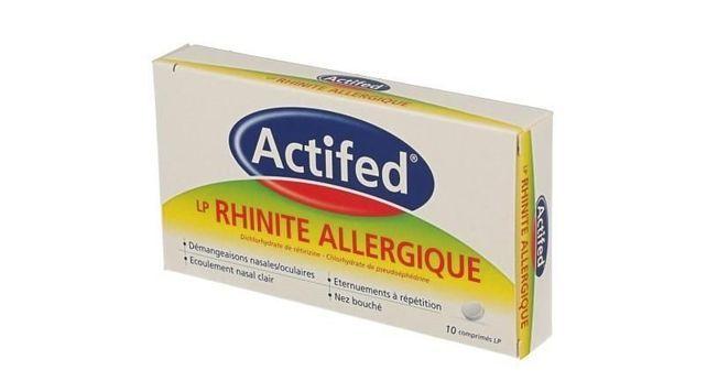 ACTIFED LP RHINITE ALLERGIQUE
