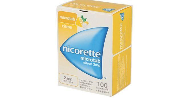 NICORETTE MICROTAB CITRON