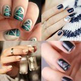 Tendance : les 70 plus beaux nail art de Noël