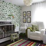 Comment intégrer du vert dans une chambre de bébé ?