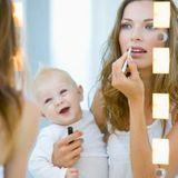 La trousse de beauté pour la maternité