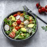Une salade composée en plat principal !