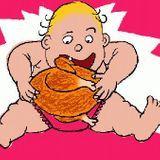Les causes de l'obésité de l'enfant