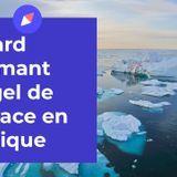 Retard alarmant du gel de la glace en Arctique