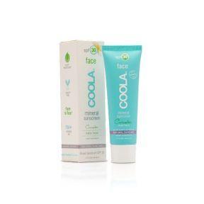 Crème solaire visage SPF 30 au concombre de Coola