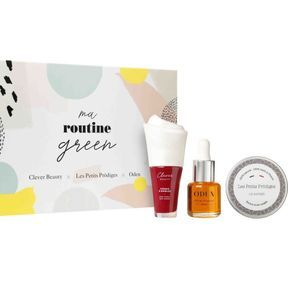 Coffret Ma Routine Green Clever Beauty