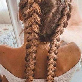 Braids sur cheveux longs