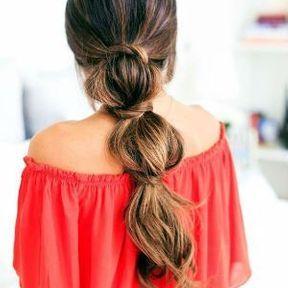 Cheveux longs coupe