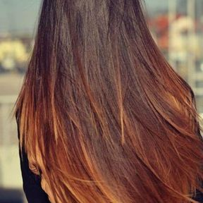 Coupe longue tie and dye
