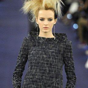Chanel : Crêpage de chignon