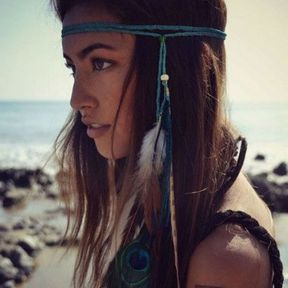 Un headband façon bohème