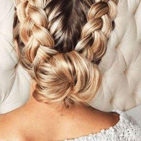 Coiffure Nouvel An : 65 idées coiffure pour les fêtes repérées sur Pinterest
