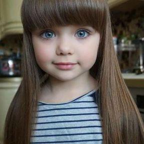 Modèle coiffure pour fille