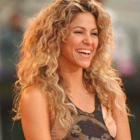 La crinière frisée de Shakira