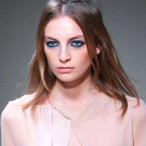 L'eye-liner bleu